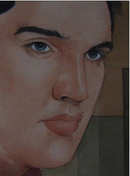 watercolour.jpg elvis presley